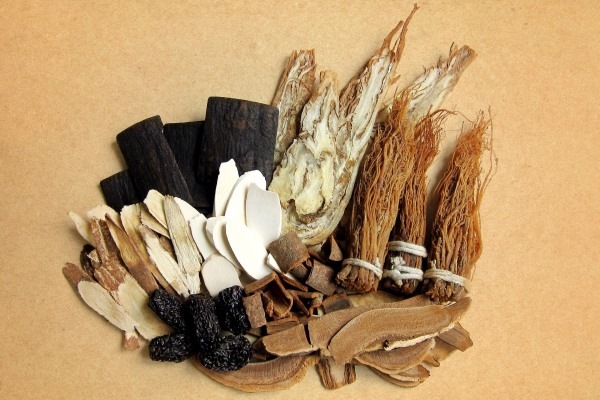 Traditional medicine including plant roots