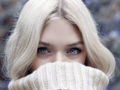 Woman with Beautiful Eyebrows