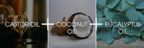 Anti-dandruff solution with castor oil