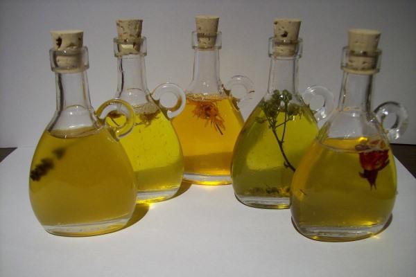Hair care essential oils for blending