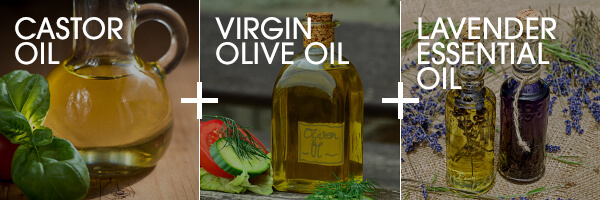 Castor oil face cleanser with olive and lavender oil