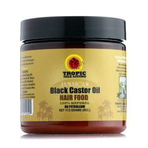 Tropic Isle Living Jamaican Black Castor Oil Hair Food